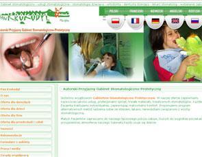 www.pankrokodyl.pl stomatolog w Warszawie